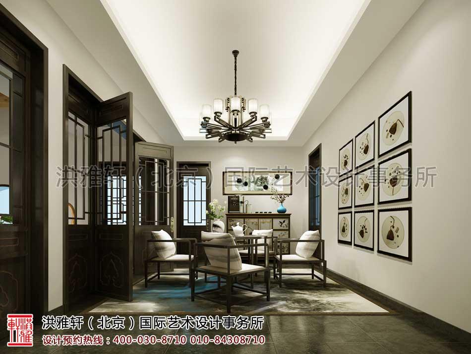 会所中式设计之休息室空间