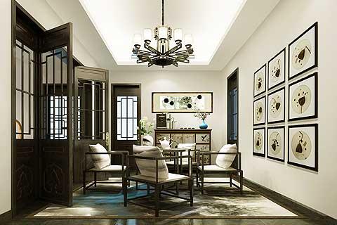 北京某会所中式设计案例 彰显简净优雅的绝美空间