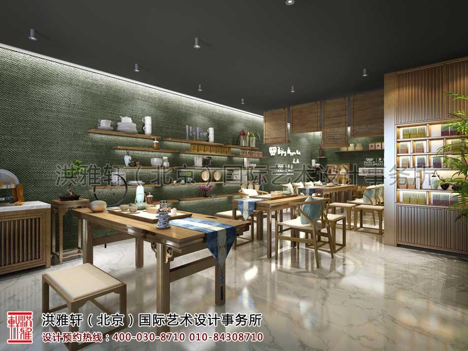 中式茶道空间