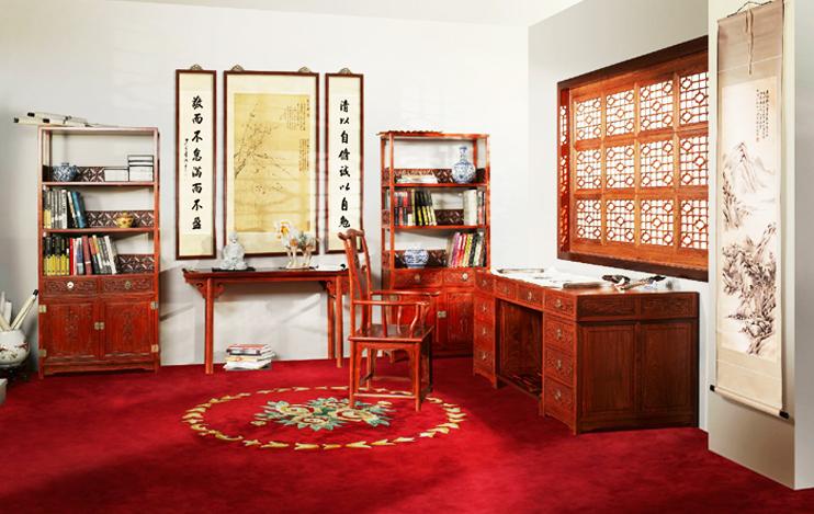 """中式传统古典家具彰显着""""器以载道""""的文化意蕴"""