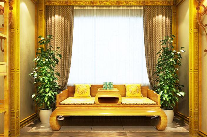 金丝楠木古典家具于厅堂之中以器之美彰显木之德