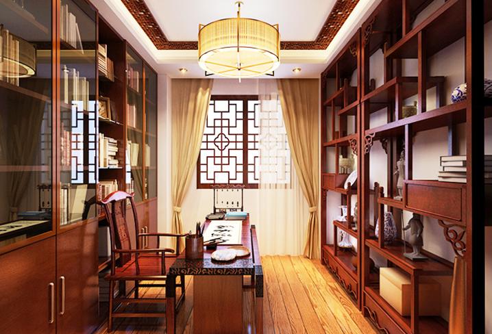 中式风格设计雅居 彰显文人生活的随性闲幽