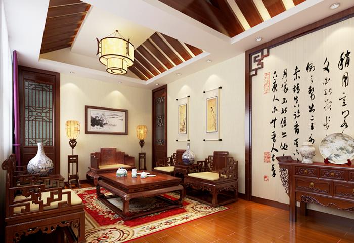 """中式装修家居演绎""""清、雅、古、华""""的韵致之美"""
