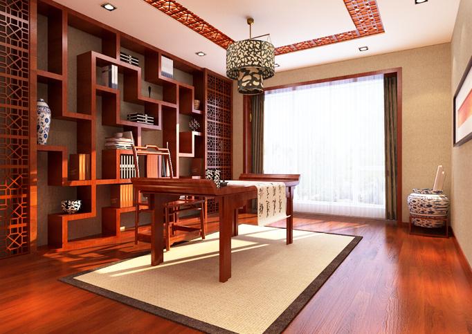 """中式书房——中国人精神的""""对境""""与生命的""""留白"""""""