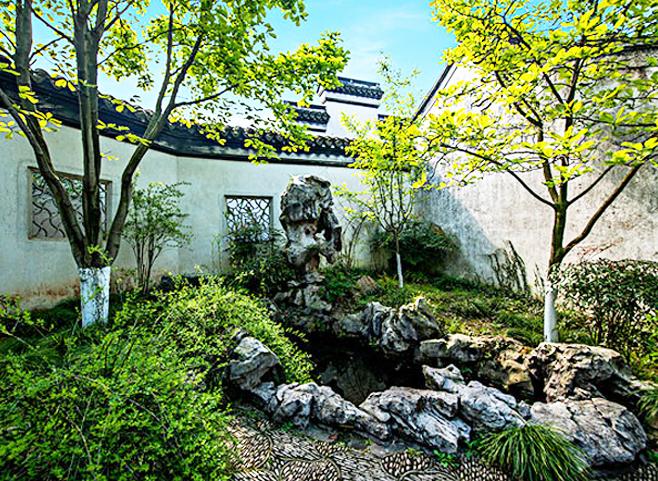 以景富情,感物明志  中式传统庭园石文化的无穷魅力
