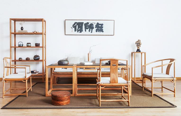中式空间明式禅意家具  简练淳朴,清心静气