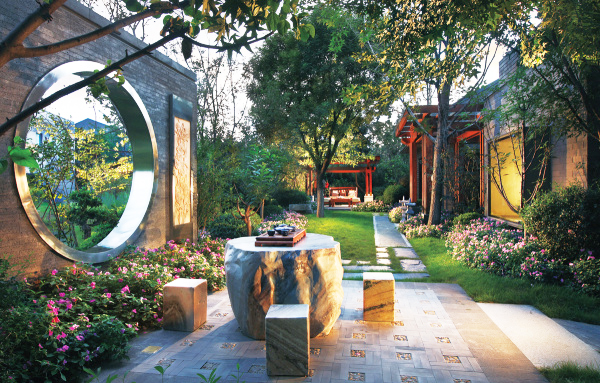 新中式景观设计——集虚观静、通幽入胜