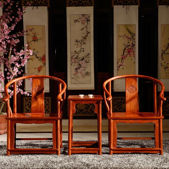 古典红木家具  中式设计空间一处意境深远的静默之景