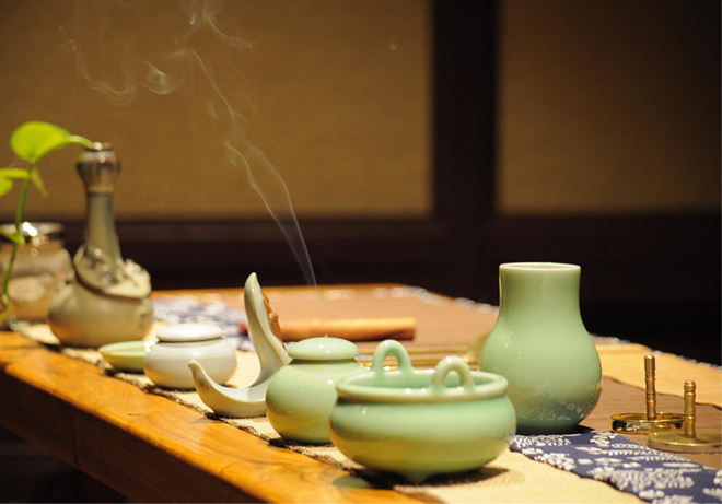 中国传统香道文化之雅香一盏心性悠然