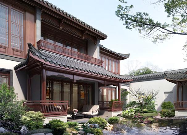 古雅幽邃、素雅精巧的中式设计古典庭院
