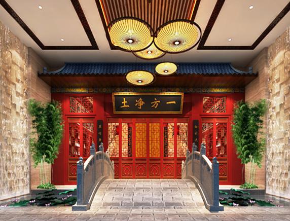 浅析中式茶馆空间设计美学——天人合一,道法自然