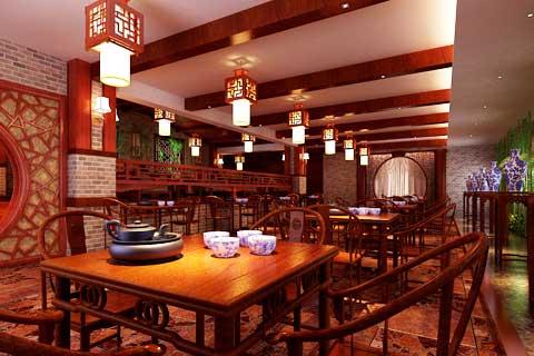 中国传统文化中式茶楼设计与水榭戏台的关系