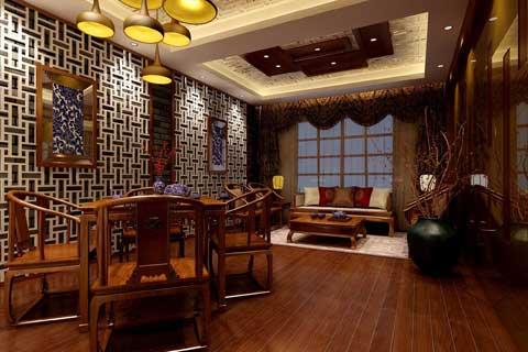 论中式茶楼设计的现状与设计理念及新氛围