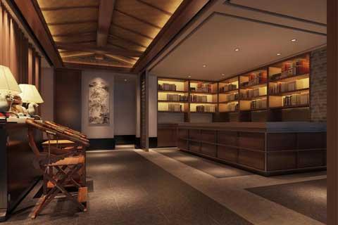 论现今中式茶楼设计与中式元素的融合性