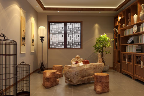 论中式别墅建筑设计特点及设计原则