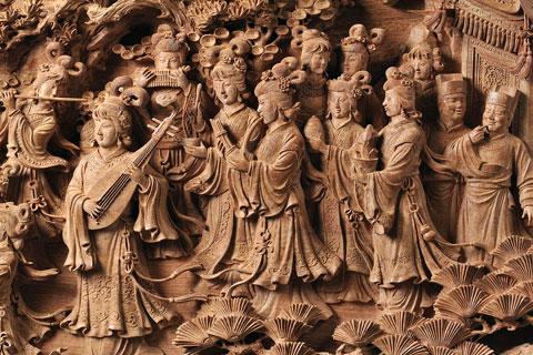 新中式设计木雕家具表现探析及运用创新