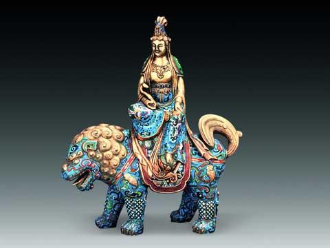 中国传统工艺之景泰蓝的制作流程及其衍生品