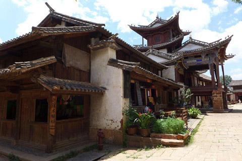 春秋战国时期的古典建筑体现的中式文化