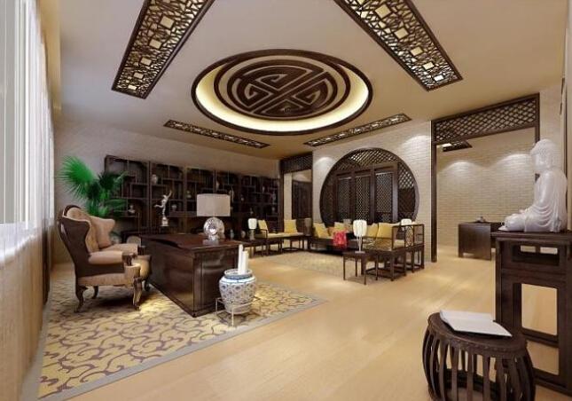 新中式装修风格,古典文化传承和现代文明结合的中国风