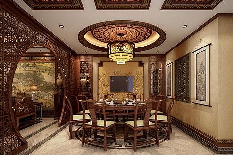 别墅中式装修方案 让你了解中式装修的特点