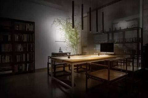 用心打造中式茶室,清新淡雅静心港湾