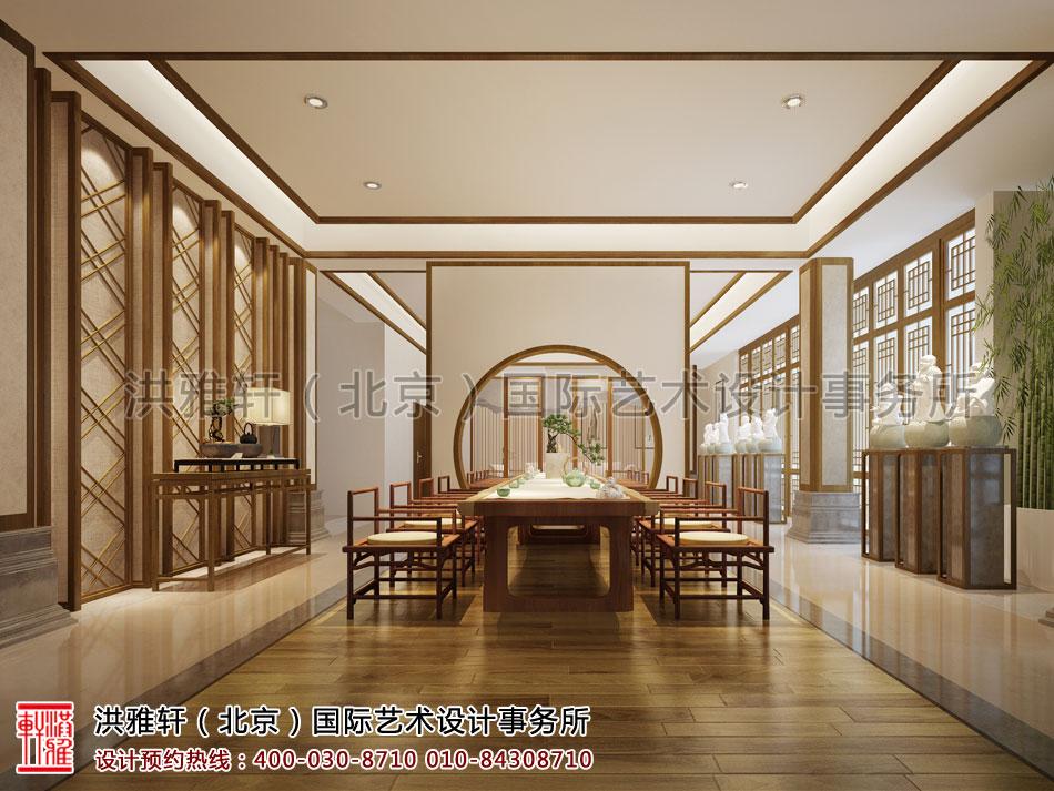 南京宾馆禅意设计方案之茶室空间