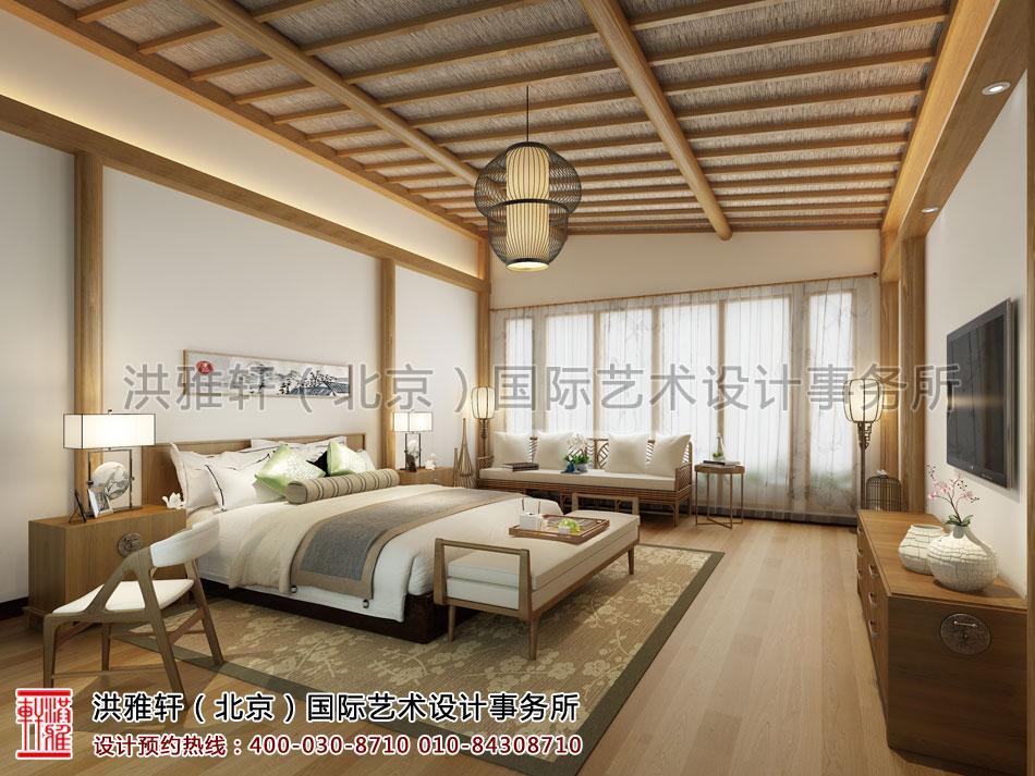 南京宾馆禅意设计方案之客房