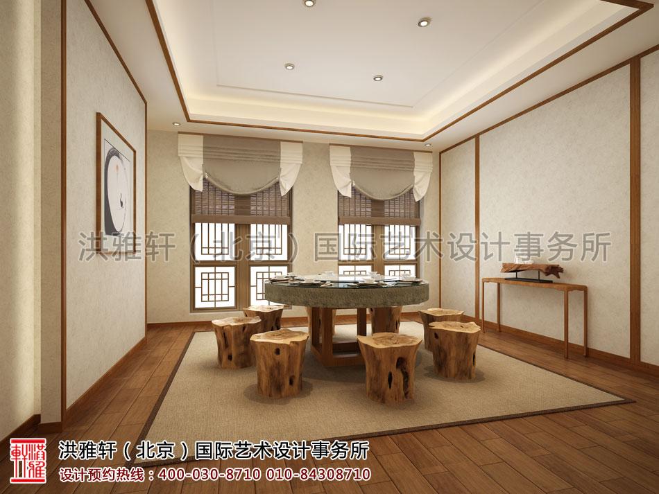 南京宾馆禅意设计方案之餐饮空间