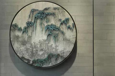 新中式玄关装修,传承古典传统中带着现代创新气息