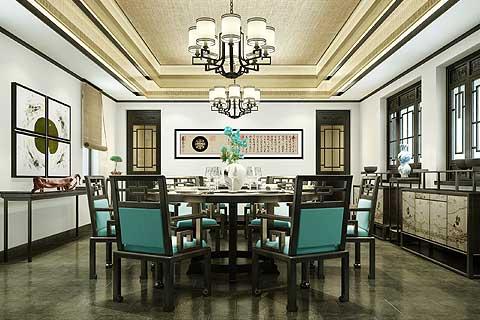 北京清河营一号院现代中式设计 打造古朴自然的书香格调