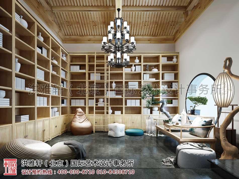 北京清河营四合院中式设计之书房