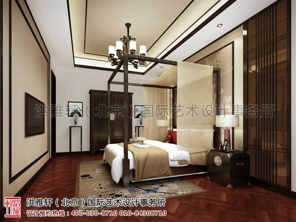 北京清河营四合院中式设计之卧室