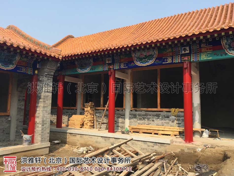 河北省某寺院装修施工现场一览(图三)