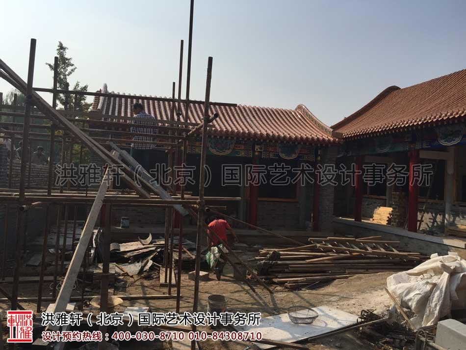 河北省某寺院装修施工现场一览(图五)