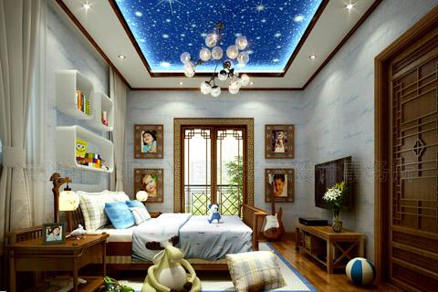 中式装修提示儿童房也要注重风水 对孩子成长帮助更大