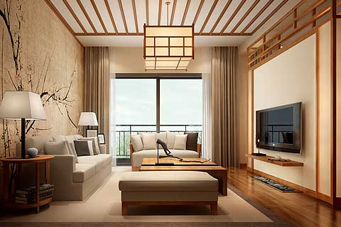 江苏苏州某客户禅意中式家装案例 感受一种禅意和清新