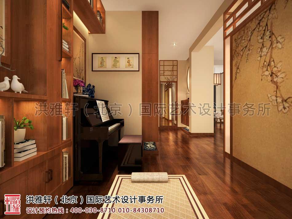 江苏苏州某客户禅意中式家装案例之瑜珈房