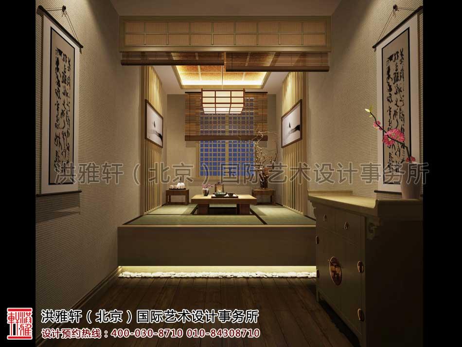 山东济南茶室中式设计之茶室效果图(三)