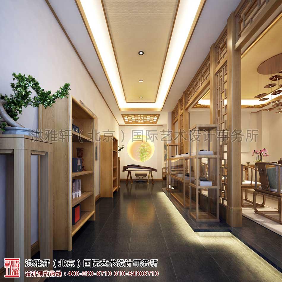 西安茶楼禅意中式设计(角度一)