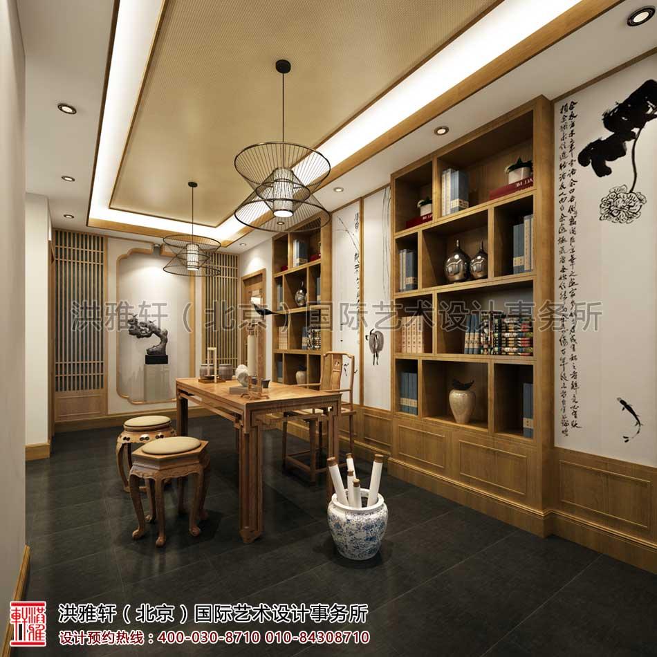西安茶楼禅意中式设计(角度三)