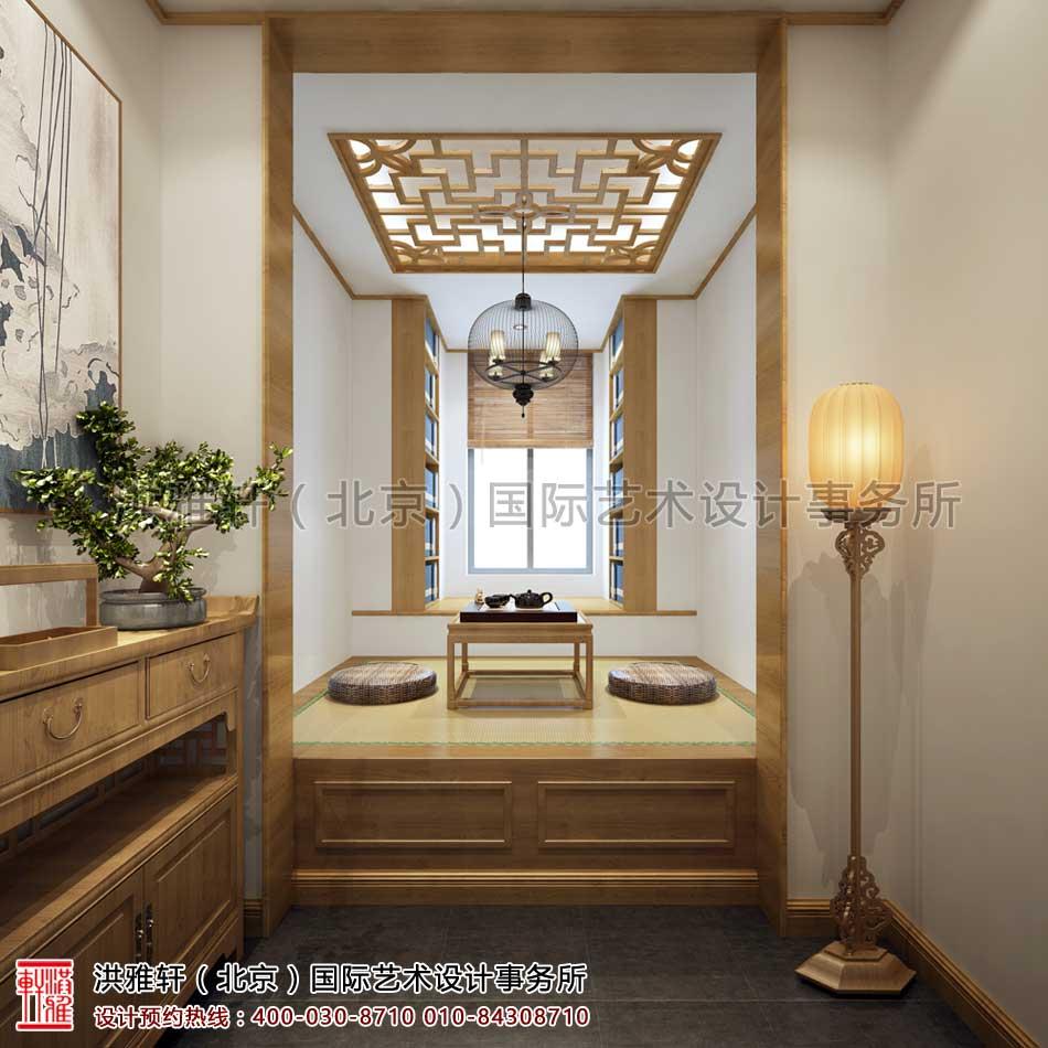 西安茶楼禅意中式设计案例 - 茶室空间(二)