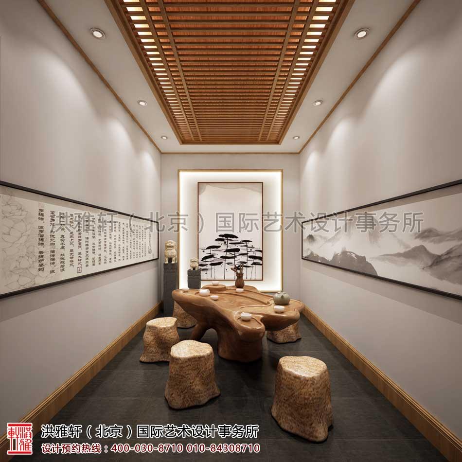 西安茶楼禅意中式设计案例 - 茶室空间(三)