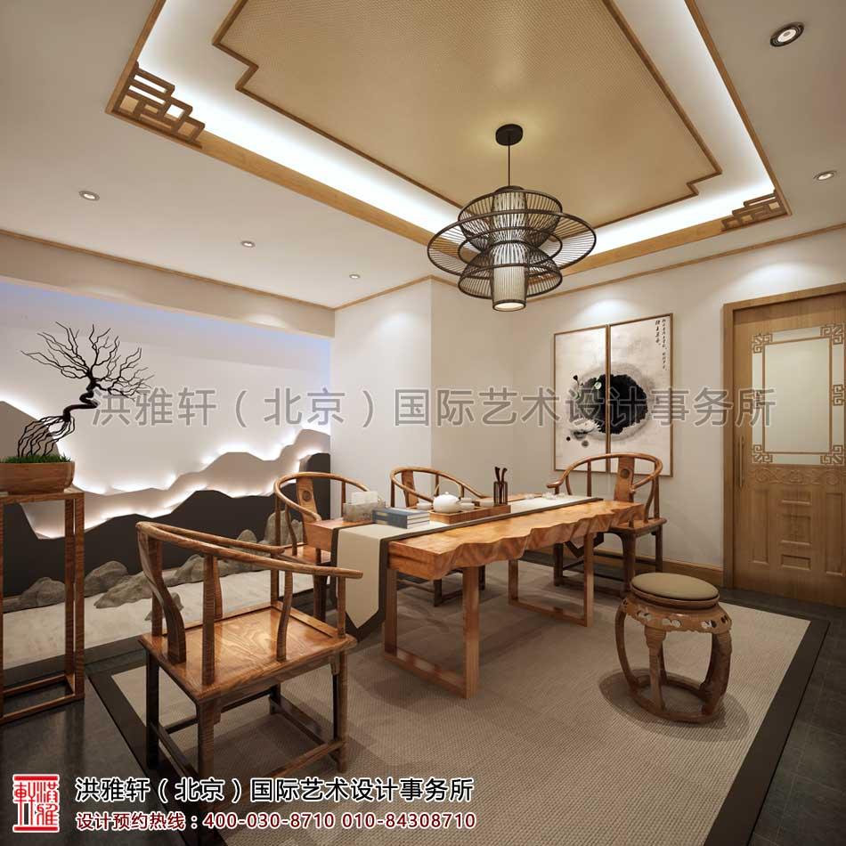 西安茶楼禅意中式设计案例 - 茶室空间(四)