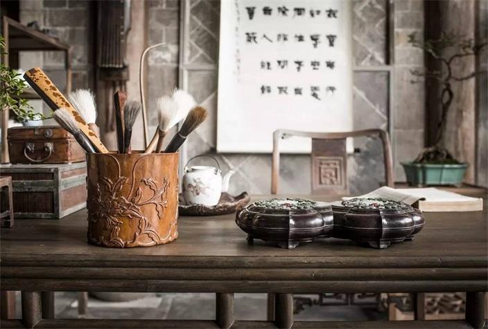 文化承接-中式书房禅意静心,心种菩提,禅悟人生图片