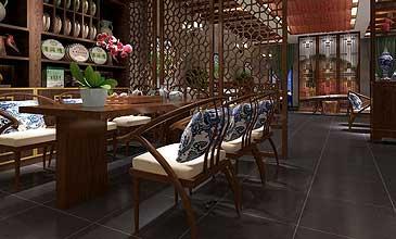 中式茶楼装修风格效果图集合(二)