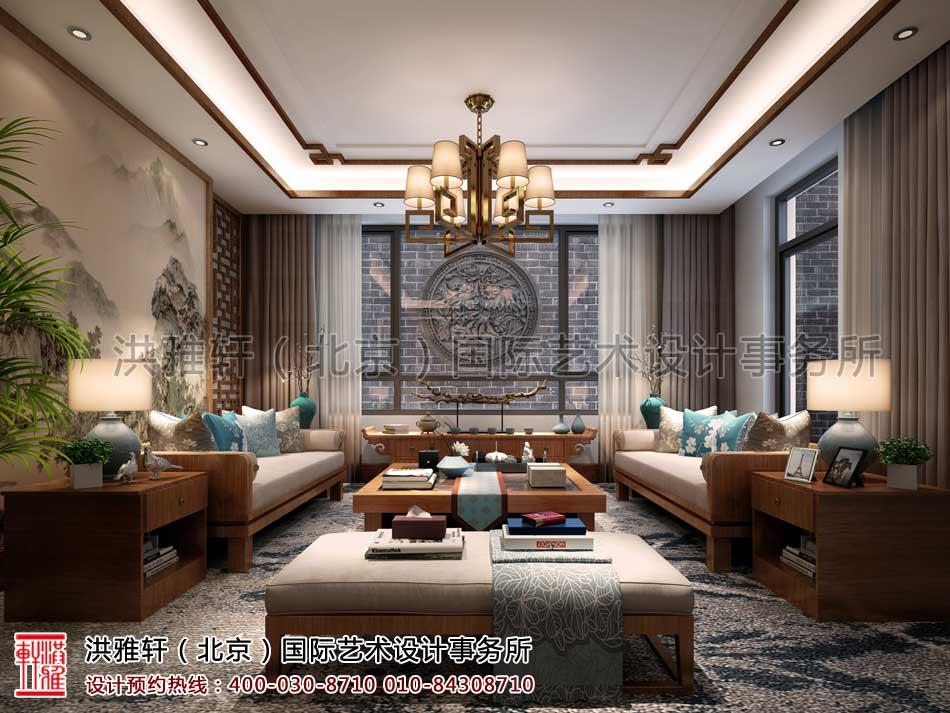 泰禾北京院子别墅中式设计之负一层家庭
