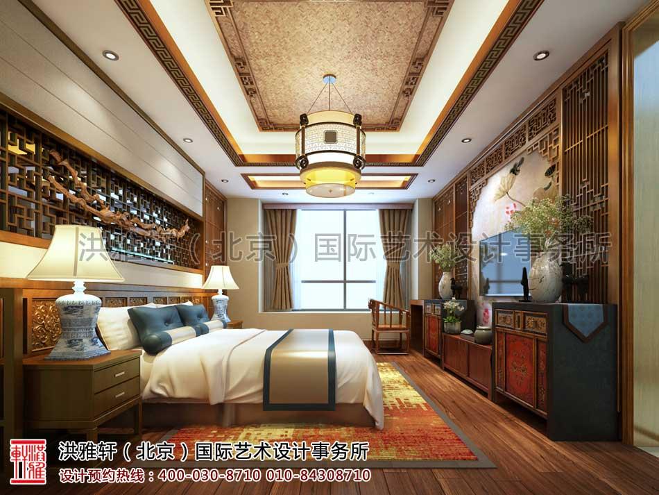 重庆中式家装之卧室设计