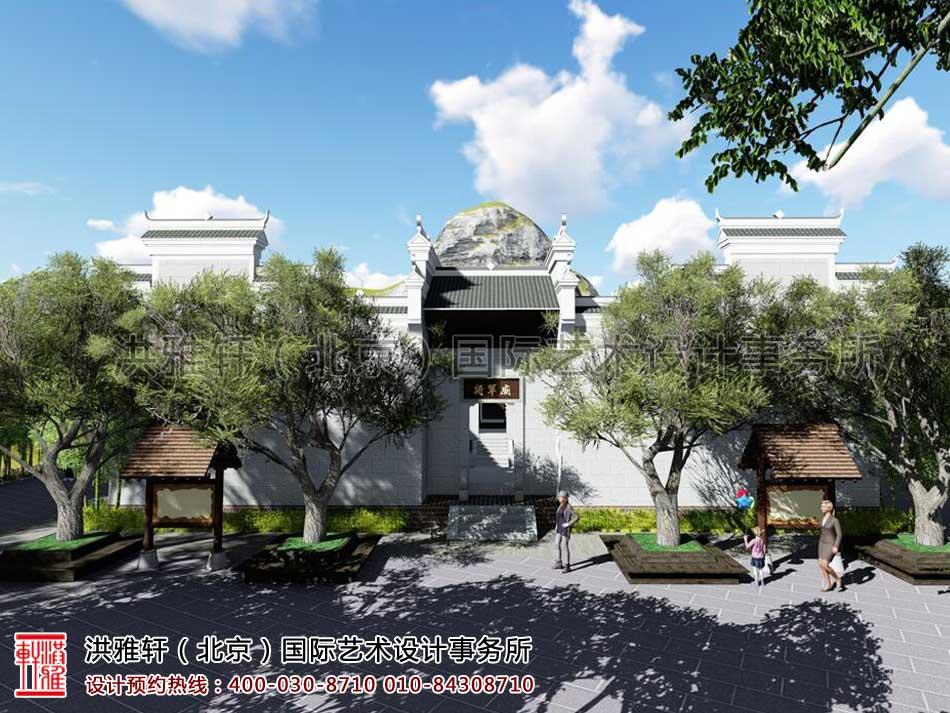 湖南官渡杨泗将军庙修缮整体方案之外观设计(一)