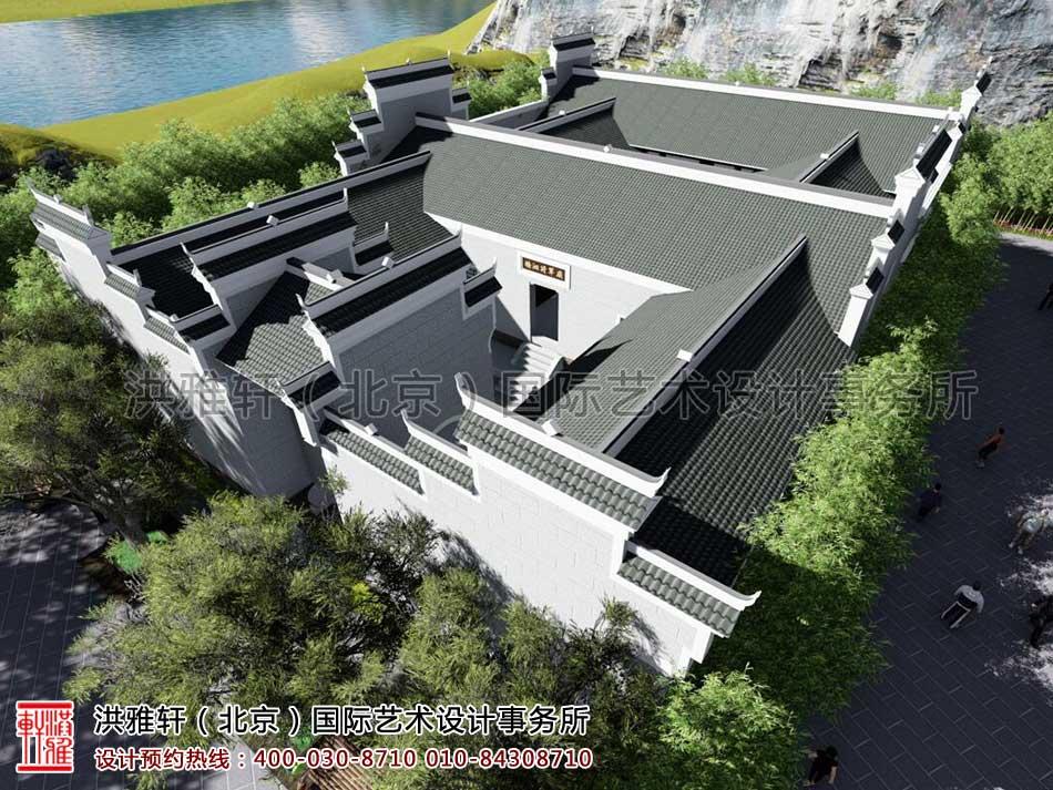湖南官渡杨泗将军庙修缮整体方案之外观设计(二)