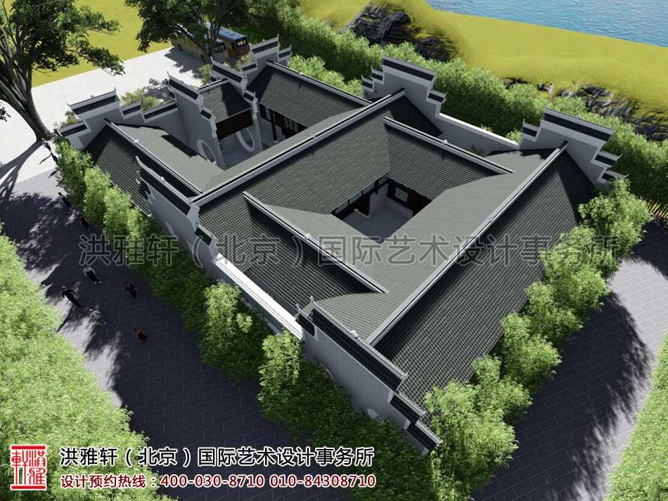 湖南官渡杨泗将军庙修缮整体方案之外观设计(三)